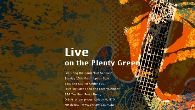 """Live on the Plenty Green"""