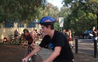 triathlon cycle leg