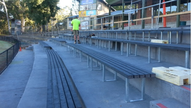 New seating installed at Central