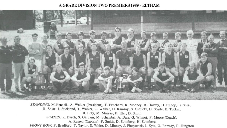 History – Eltham Football Club – Season 1989