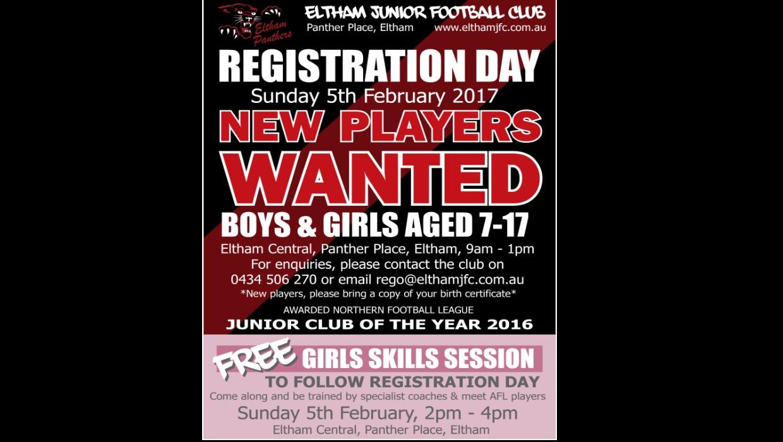 Junior Registration Day