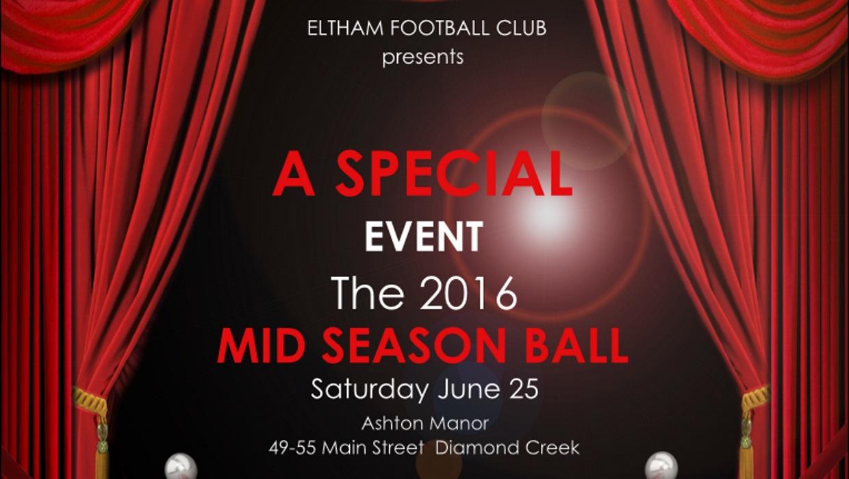 Eltham Football Club – Mid-Season Ball