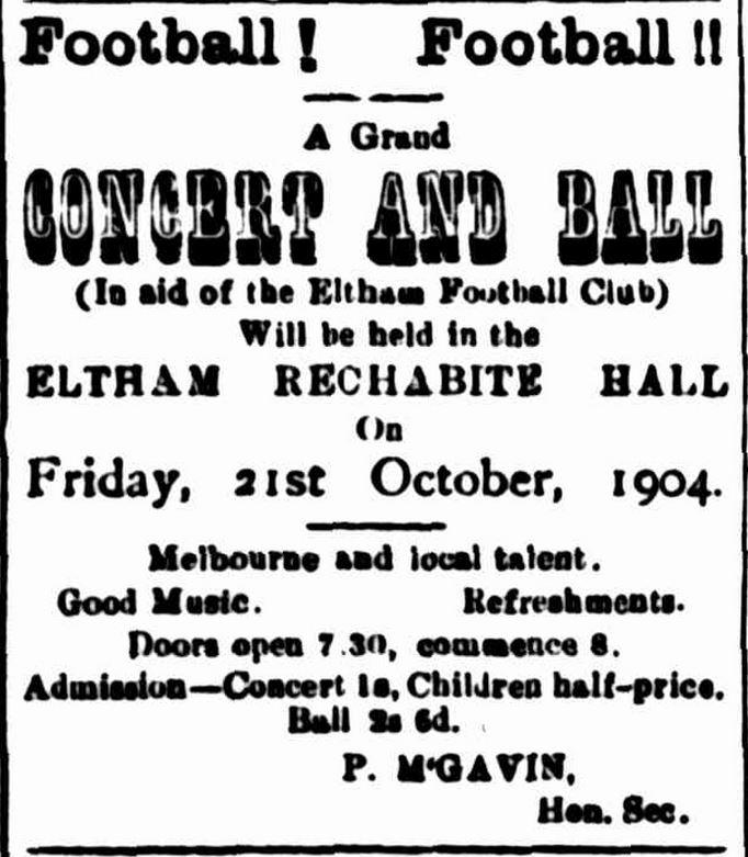 EFC 1904 ad