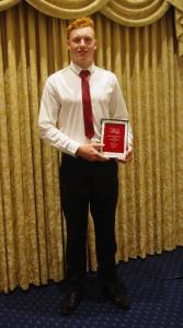 Harry Burns - Coaches award 2014